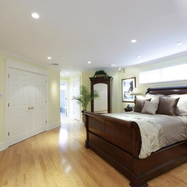 Bedroom Living Space Remodeling